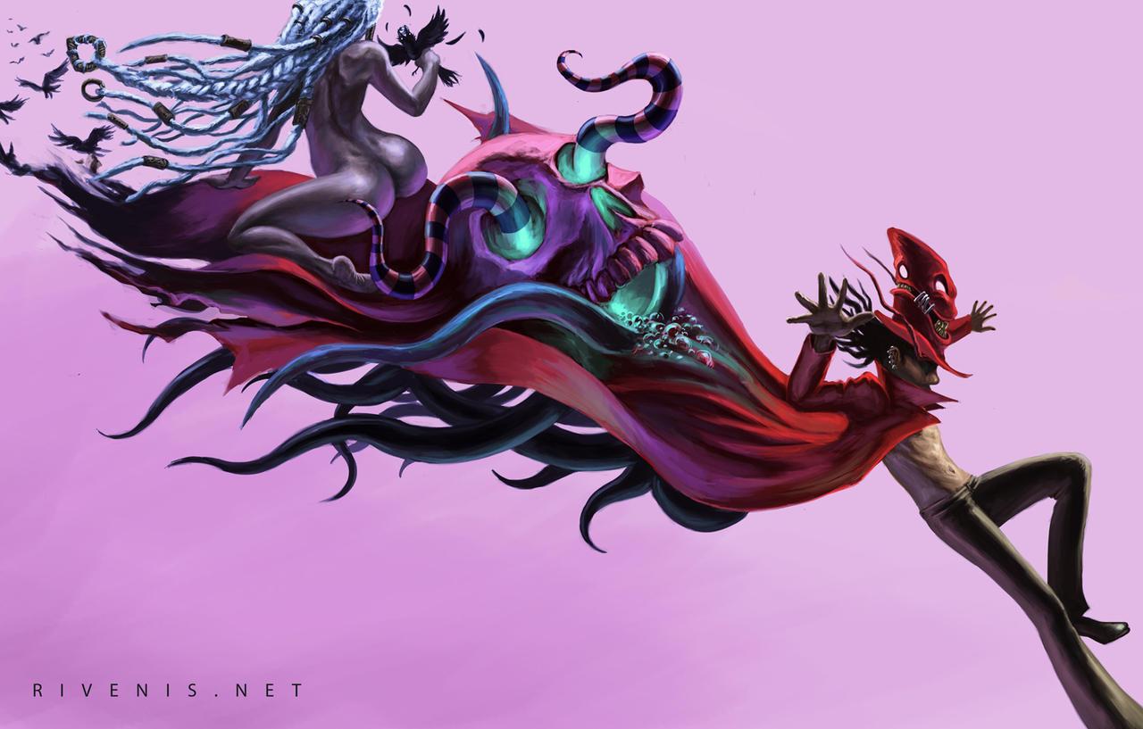 Bloodshot Carnival by Rivenis