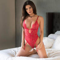 TAWNY JORDAN IN red UNDERWEAR by tonnum18