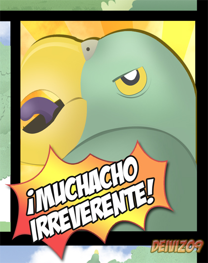Muchacho irreverente 2 by treed44