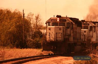 KCS 677 in 1982 by labrat-78