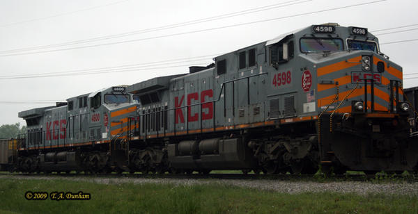 KCS 4598 at Flint Creek by labrat-78
