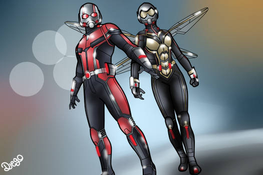 Antman  The Wasp