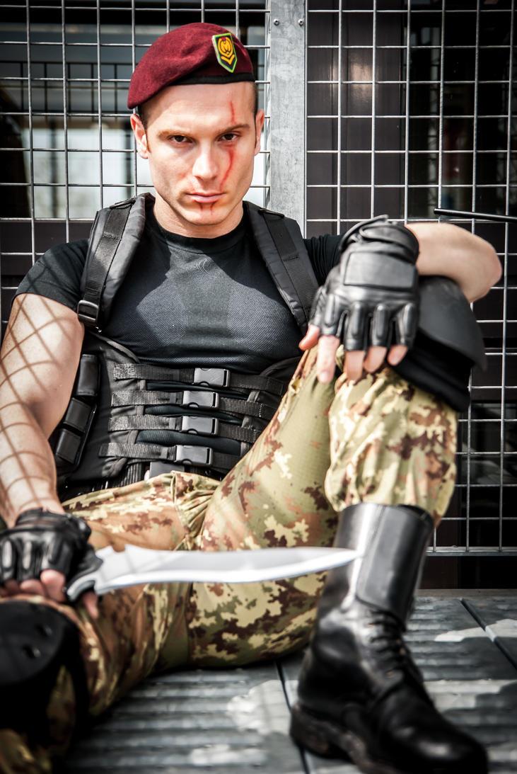 Jack Krauser - Resident Evil 4 by John-MacGyver
