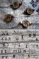 Custom Bindrune Talismans (for sale) by ArtLoDesigns