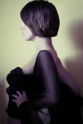 Black Fabric Pose
