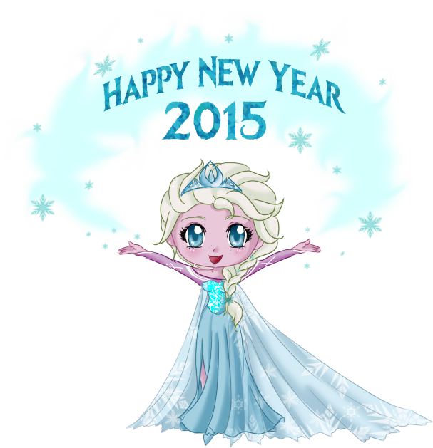 Happy new year 2015 by Biscuitmonstergirl1