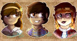 Fable 3 OCs: Royal Twins and a Ginger by Columbia-Rose