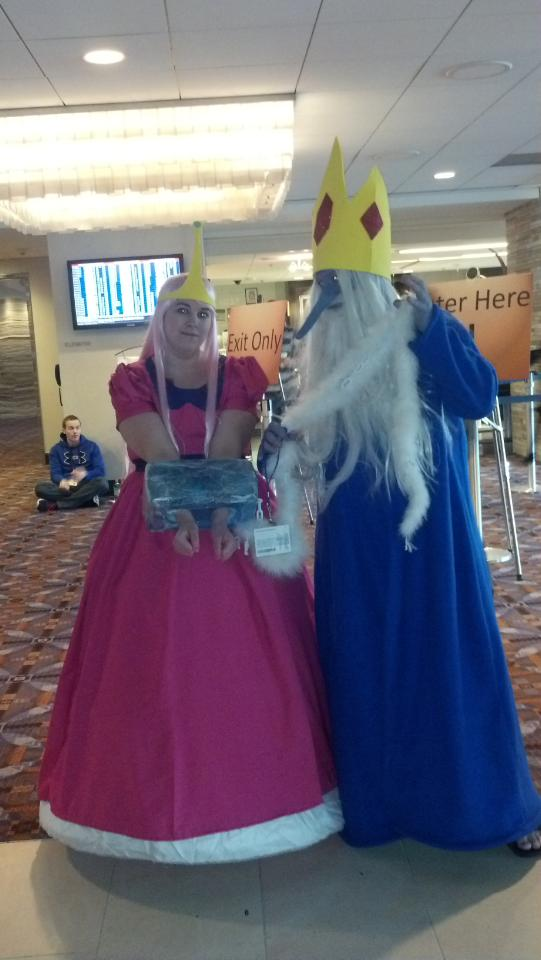 Ice King And Princess Bubblegum Adventure Time Princes...
