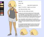 Ace Character Sheet