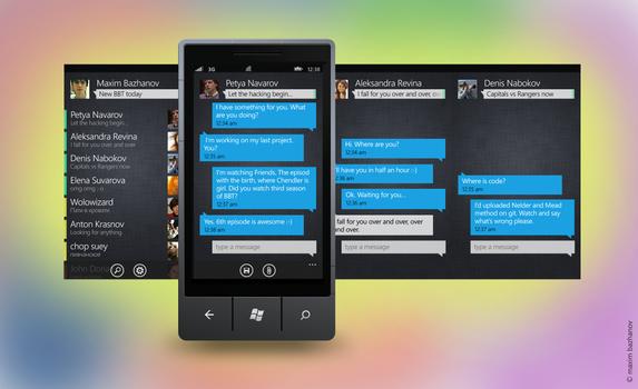 A messenger app