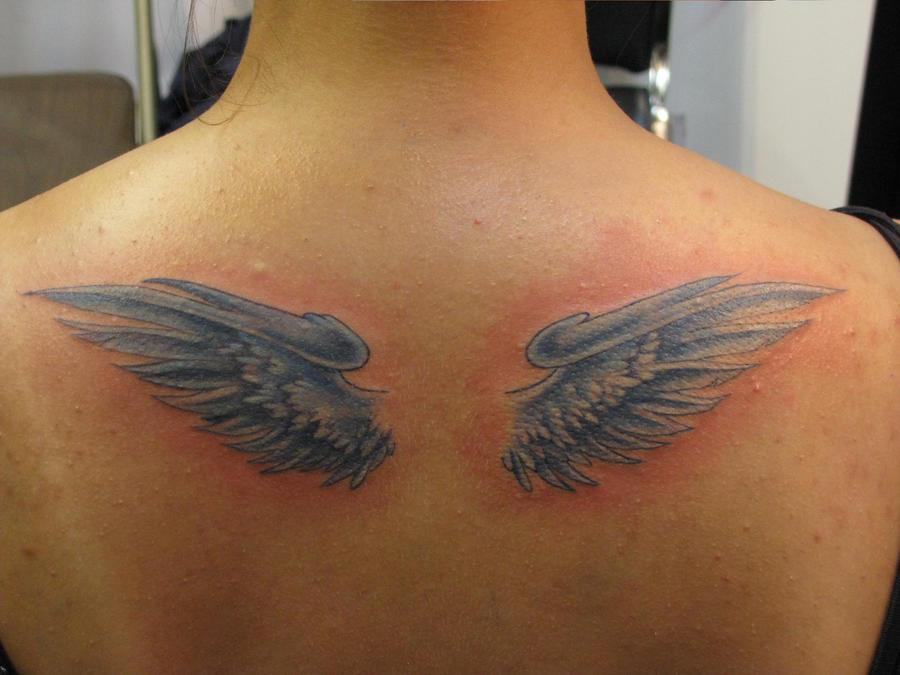 Custom Angel Wings - Blue