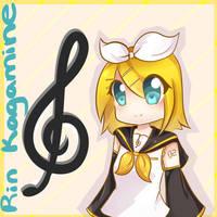 rin kagamine by Rmblee