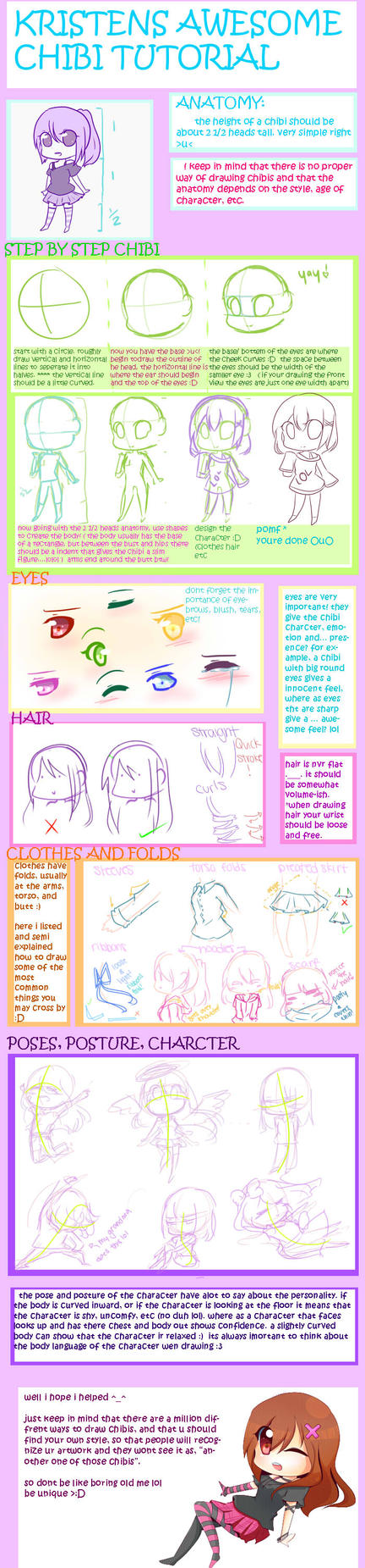 AWESOME CHIBI TUTORIAL by Rmblee