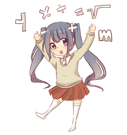 MATH IS SO KAWAII DESUUUUUUU