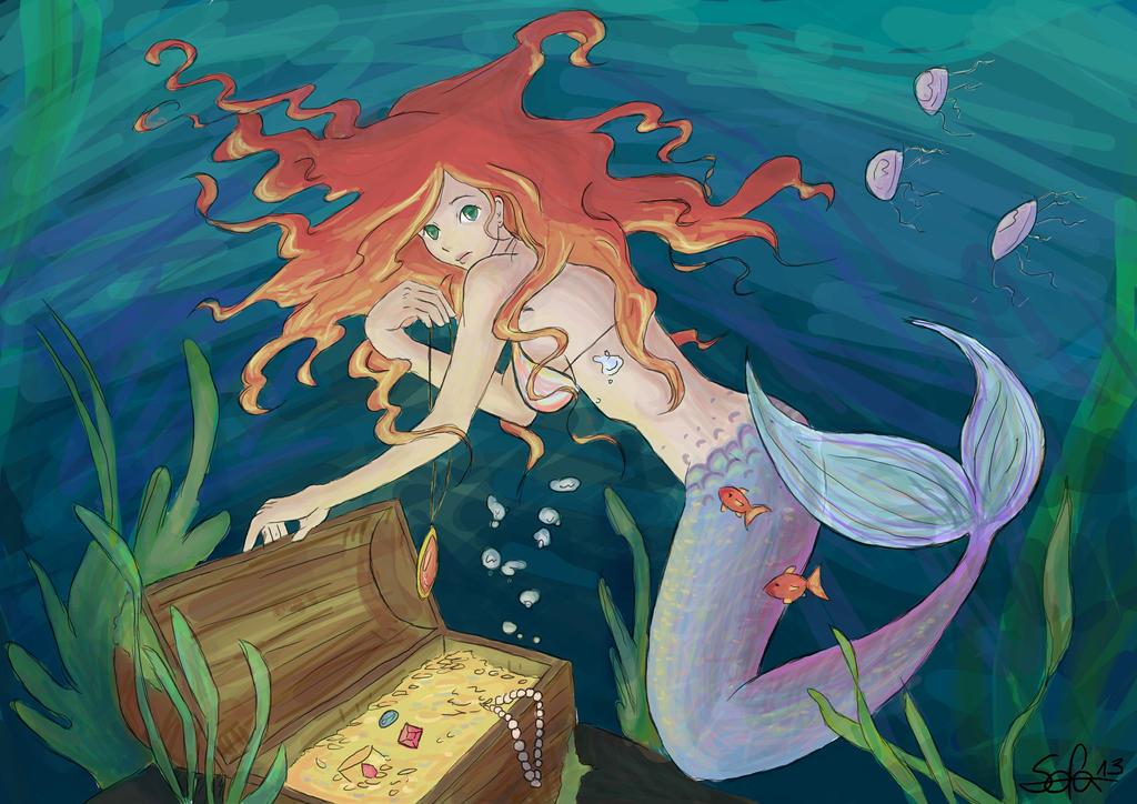 Mermaid by Sofalein