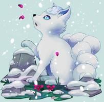 Pokemon - Vulpix Alola by Sofalein