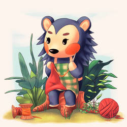 Animal Crossing New Leaf - Mable by Sofalein