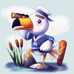 Animal Crossing New Leaf - Gulliver by Sofalein