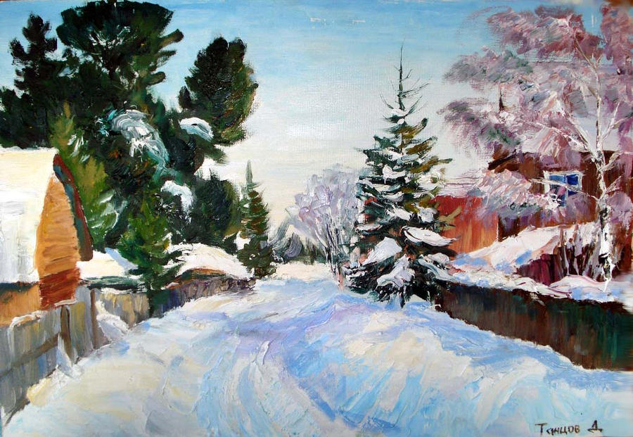 Goodbye winter by onpumi
