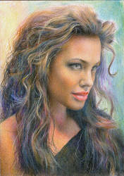 Angelina Jolie by onpumi
