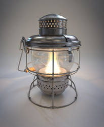 Kerosene Lantern by Sascha-Snowstorm