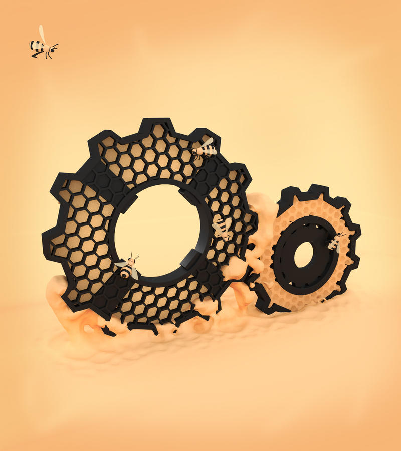 Honey Gears by Sascha-Snowstorm