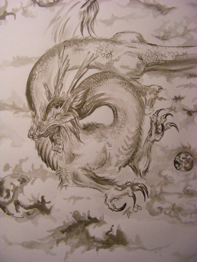 chinese dragon by pascargo