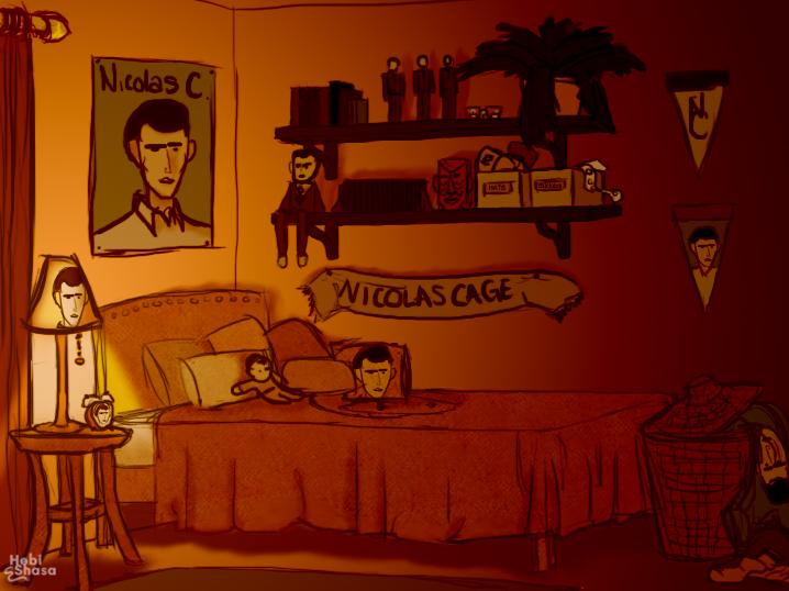 Nicolas Cage fanz by hebishasa
