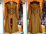 Steampunk Woolen coat