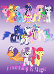 Friendship Is Magic- Poster
