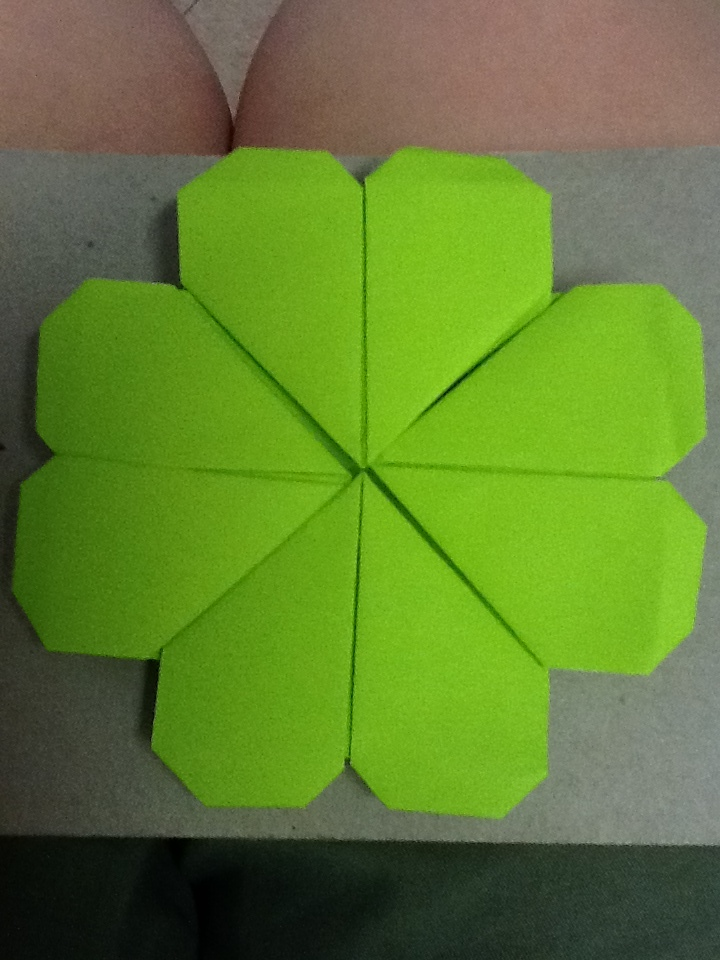 Origami Four Leaf Clover by NightRiderAlice on DeviantArt - photo#20