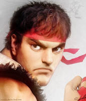 Real Ryu by cazetta