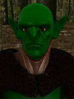 Goblin Barbarian by Fobok