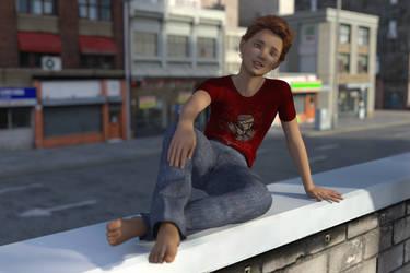 Fencetop Portrait