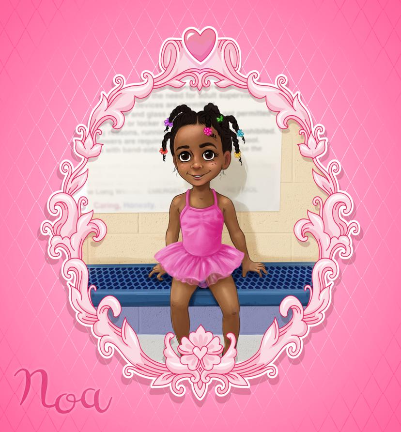 My lil' niece, Noa :) by shaione