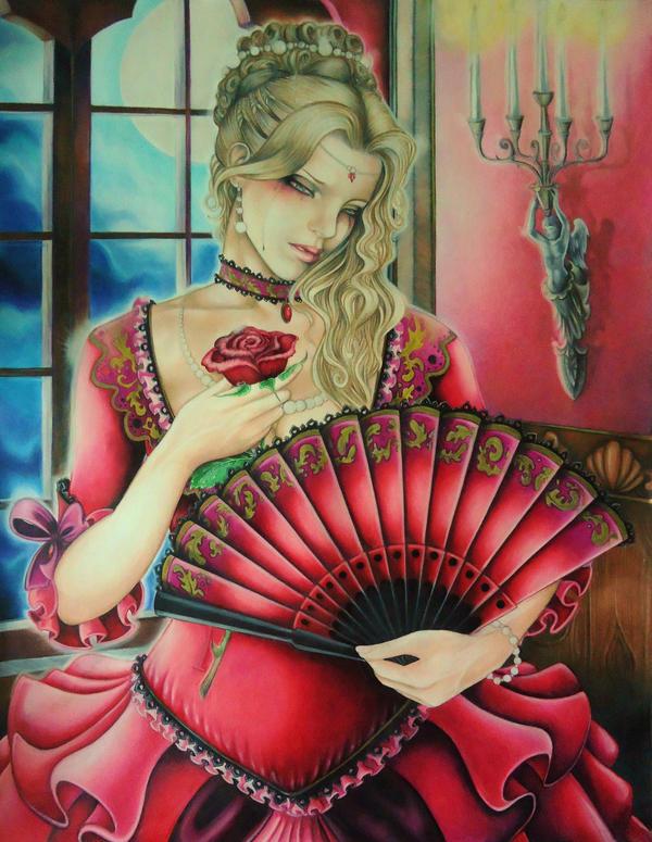 El abanico todo un arte - Página 3 Carmina_by_catalina_estefan-d5cuiht