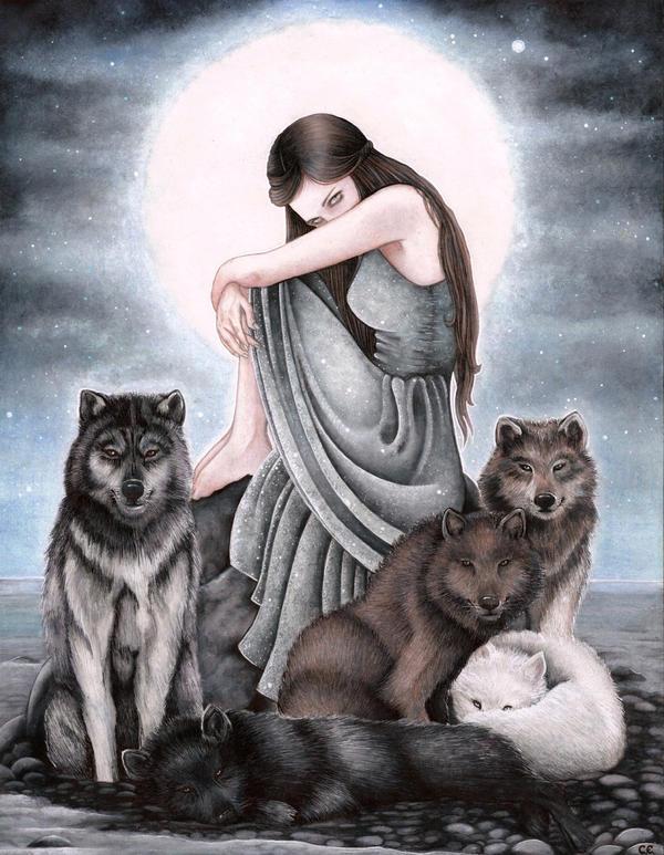 Moon's Daughter by Catalina-Estefan