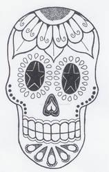 Sugar Skull 2 by jiujitsubuddah