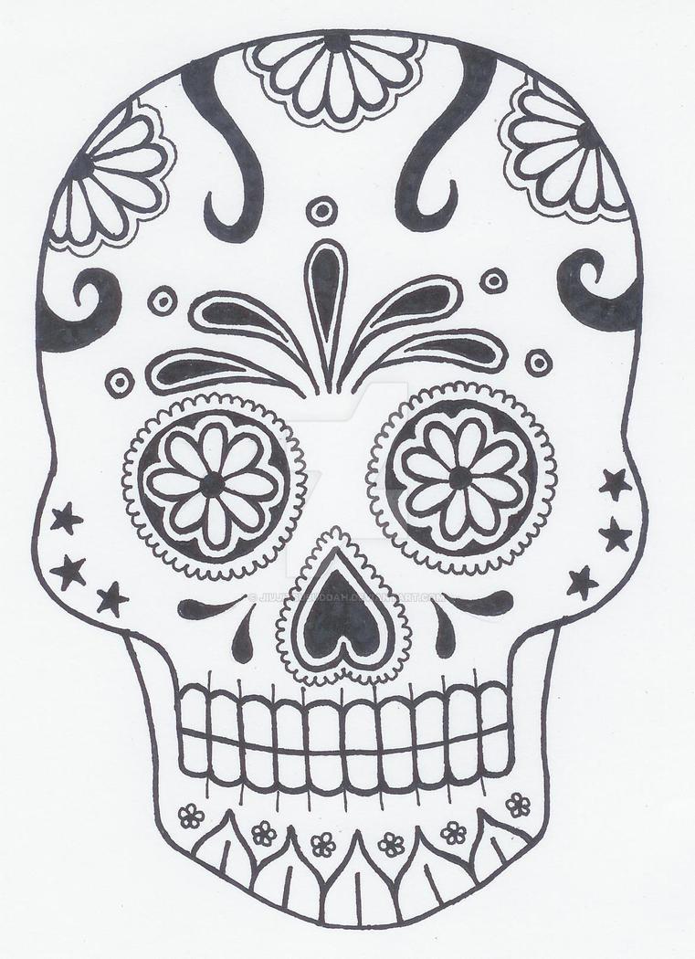 Sugar Skull 3 by jiujitsubuddah