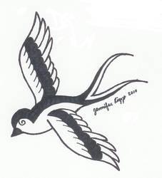 Sparrow by jiujitsubuddah