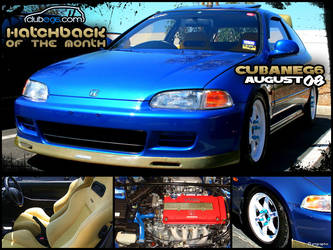08-08 : Hatchback Of The Month