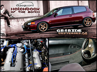 09-08 : Hatchback Of The Month