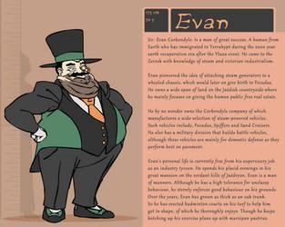 Character Bio (Evan) by SYRSA