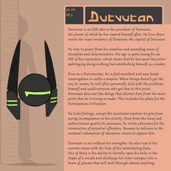 Character Bio (Dutvutan) by SYRSA