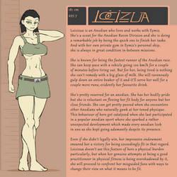 Character Bio (Loicizua) by SYRSA