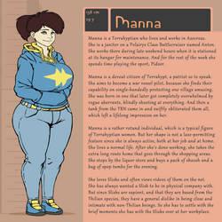 Character Bio (Manna) by SYRSA