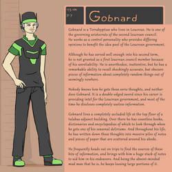 Character Bio (Gobnard) by SYRSA