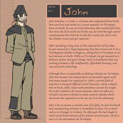 Character Bio (John)