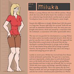 Character Bio (Miluka)