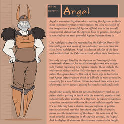 Character Bio (Argal)